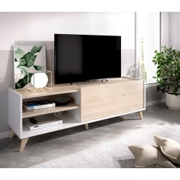 MUEBLE BAJO TV NESS ROBLE...