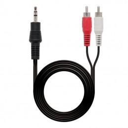 Cable estéreo nanocable...