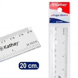 Regla kathay 86420100/ 20cm