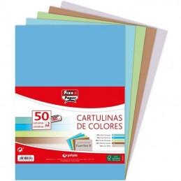 Pack 50 cartulinas...