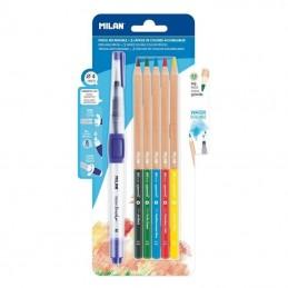 Pincel recargable + lápices...