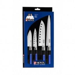 Pack 4 cuchillos japoneses...